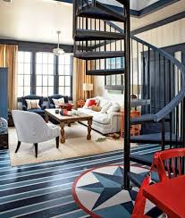 nautical inspired furniture. nautical living room navy blue floors with compass rose and touches of red inspired furniture e