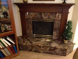 rain forest brown fireplace by mgs by design