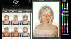 Test Coiffure Virtuelle Femme