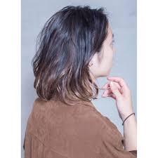 グラデーションカラーアンニュイメンズパーマ Antiアンティのヘア