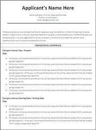 Chronological Resume Examples Vancitysounds Com