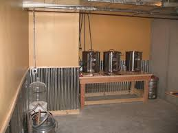 corrugated metal wainscoting ideas