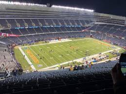 Stubhub Soldier Field Seating Chart Soldier Field Section 443 Row 34 Seat 7 Chicago Bears
