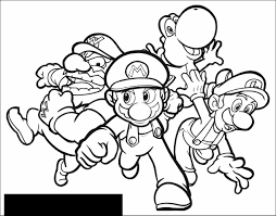 Small Picture Game Coloring Pages To Download And Print For Free Super Mario