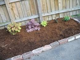 garden mulch home depot garden bricks home depot ideas