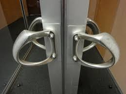 push door handles. Contemporary Door Push Sign On A Pull Door Inside Handles