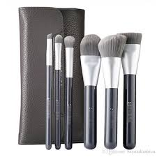 brand makeup brushes sep collection deluxe charcoal antibacterial brush set professional make up blending foundation contour brush