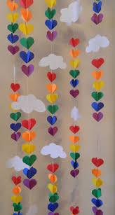Diy Birthday Decorations 17 Best Ideas About Rainbow Birthday Decorations On Pinterest