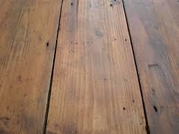 waxed pine floor matte finish