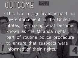 m da vs arizona by kyleigh cooper in a 5 4 majority the m da rights were created
