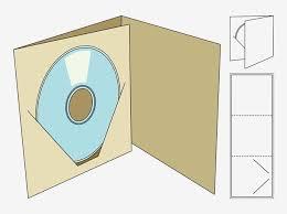 Cd Case Design Template Pin On Cd Case Folds