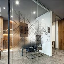 glass door stickers decoration scrub glass door stickers explosion proof company office partition conference room
