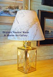 Chart Lights For Boats Old Perko Port Starboard Nautical Table Lamp