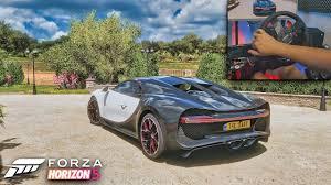 Forza Horizon 5 gameplay 4k Bugatti Chiron sunday ride - YouTube