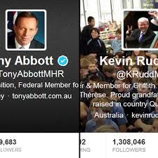 Rudd and Abbott Twitter accounts - The Drum (Australian ... via Relatably.com