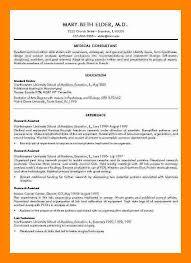 7 medical school resume template doctors signature - Medical School Resume  Format