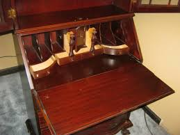 secretary cabinet with drop down desk for antique desks ideas in your office