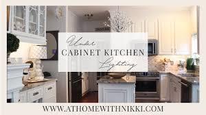 Easy Under Cabinet Kitchen Lighting Youtube