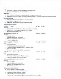 25 Chef Resume Examples Sample Resumes Chadd My Love Pinterest