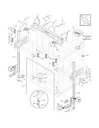 Electrolux dishwasher parts model ewdw6505gb0 sears partsdirect r0803174 00003 0130000html