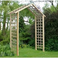 atlas timber garden arch
