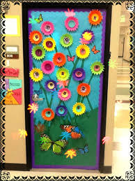 Door Decoration Ideas Best Classroom Decorations On For Spring