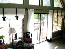 ideas for sliding glass doors door valance image of window treatments clips decorating eggs with valence treatment l