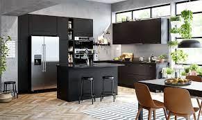 80 Black Kitchen Cabinets The Most Creative Designs Ideas Interiorzine