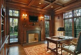 traditional custom home office. office winnetka luxury custom home traditional chicago by m
