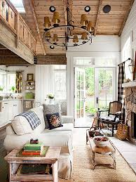 Country Style Living Rooms