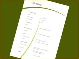 5 Lebenslauf Design Vorlage Kostenlos Reimbursement Format