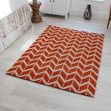 arlo chevron orange ar07 rug love rugs reference 2130