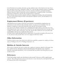 What To Put Under Education On Resume Resume Unfinished Degree How