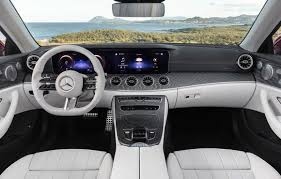 We couldn't have been happier. The 2021 Mercedes Benz E Class Two Doors Have The Wildest Tech Yet Driving
