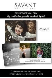 Online Announcement Cards Editable Template Graduation Card Announcement Photo