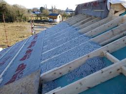 warmcell insulation into the shed roof how to insulate a roof o32