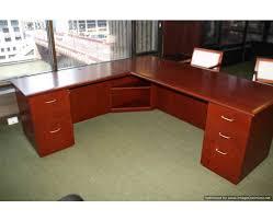 listing 564 new l shaped cherry wood desks