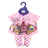 <b>Zapf</b> Creation Комплект <b>одежды для куклы</b> Baby Born 823545 в ...