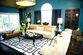 area rug placement in small living room rugs for best size