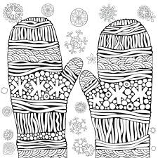 Colouring is a perfect activity to do with kids on those dark and. Free Printable Winter Coloring Pages Madalenoformaryland