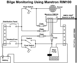 maretron basic bilge monitoring wiring diagram png