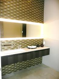 wall lighting sensational design ideas unique floating black and white vanity table single sink with long rec