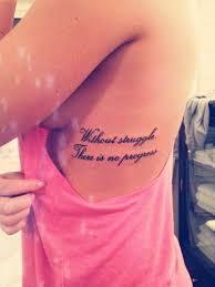Rib Tattoos Quotes Custom 48 Beautiful Side Rib Quotes Tattoos