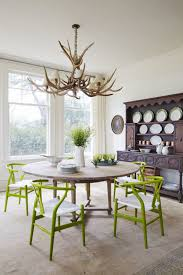 dining room decoration. Inspired By The Lush Landscape Just Outside Windows (which Were Salvaged From An Old Dining Room Decoration E