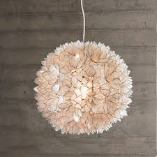 capiz shell chandelier white smoke chandeliers