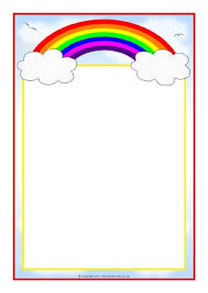 Small Picture Rainbow Themed Classroom Printables SparkleBox