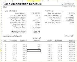 Free Printable Amortization Schedule Energycorridor Co