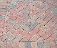 brick paver patio herringbone.  Patio Amusing Herringbone Pattern Pavers In A For Kim Pinterest Intended Brick Paver Patio G