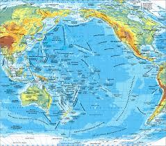 Тихий океан Карта Тихого океана Географическое положение  Карта Тихого Океана