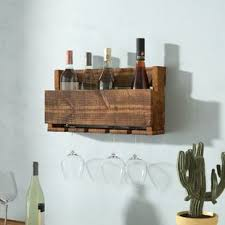 Rustic Wine Racks Youll Love Wayfair